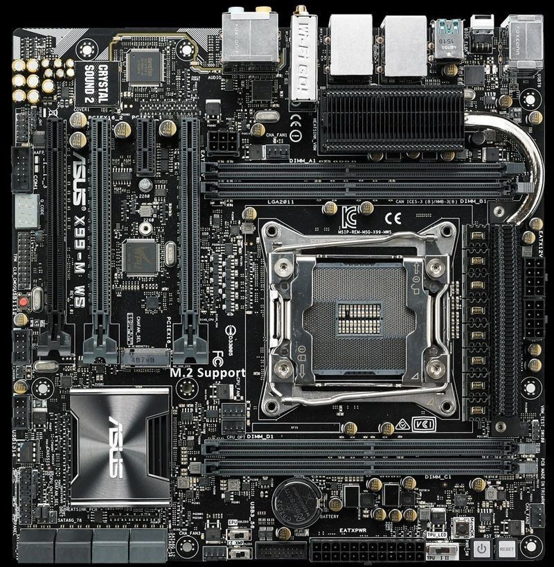 ASUS Launch X99M-WS Micro-ATX Motherboard