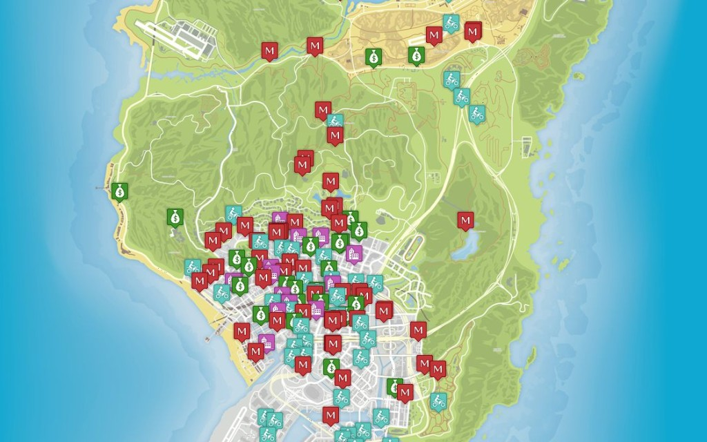 Unoffical Map For GTA5
