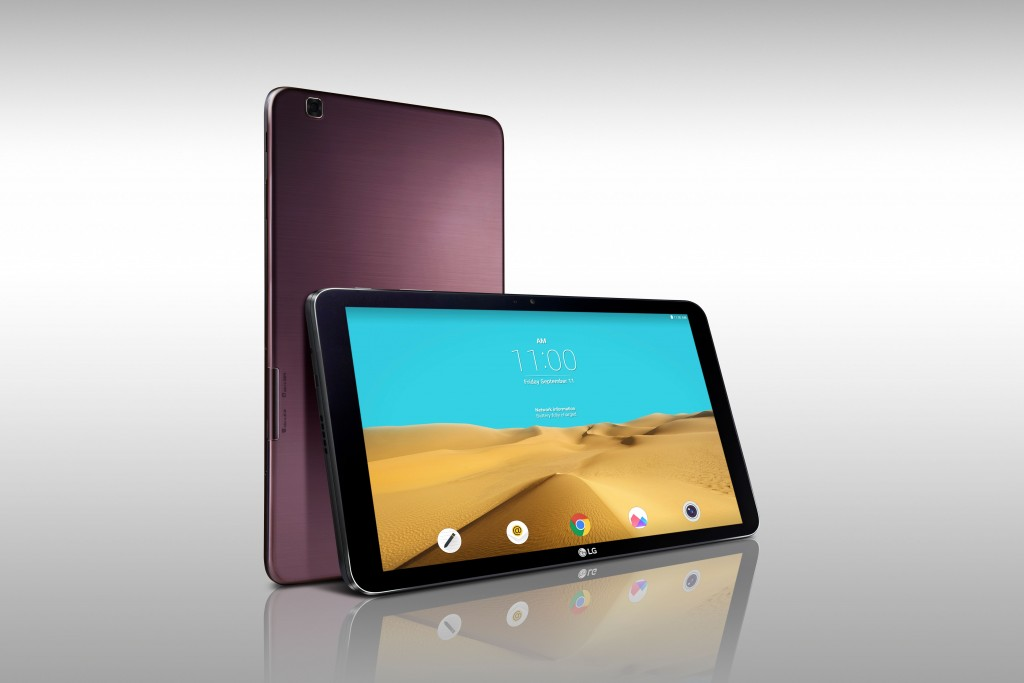 LG will show off their G Pad II 10.1 tablet during the IFA 2015