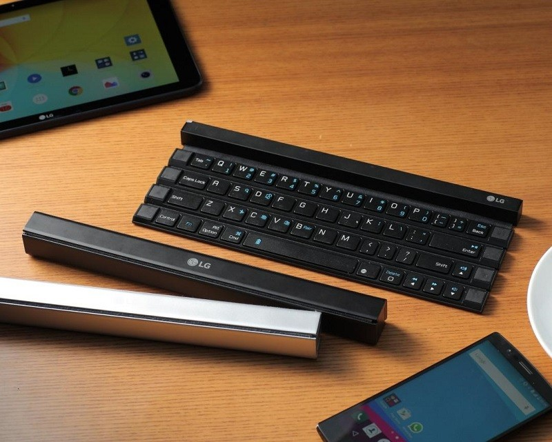 LG Has Unveiled A New Accessory Called The Rolly Keyboard
