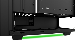 Razer and NZXT show off the S340 PC case (Designed by Razer)