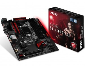 MSI announces H170 and B150 Based Gaming Motherboards