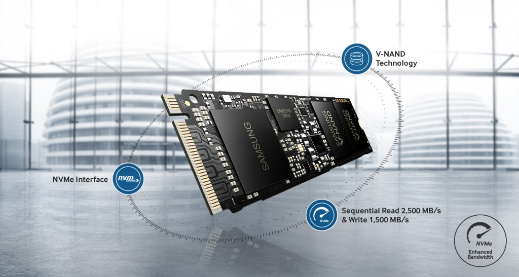 Samsung Announced The Samsung 950 PRO M.2 PCIe SSD