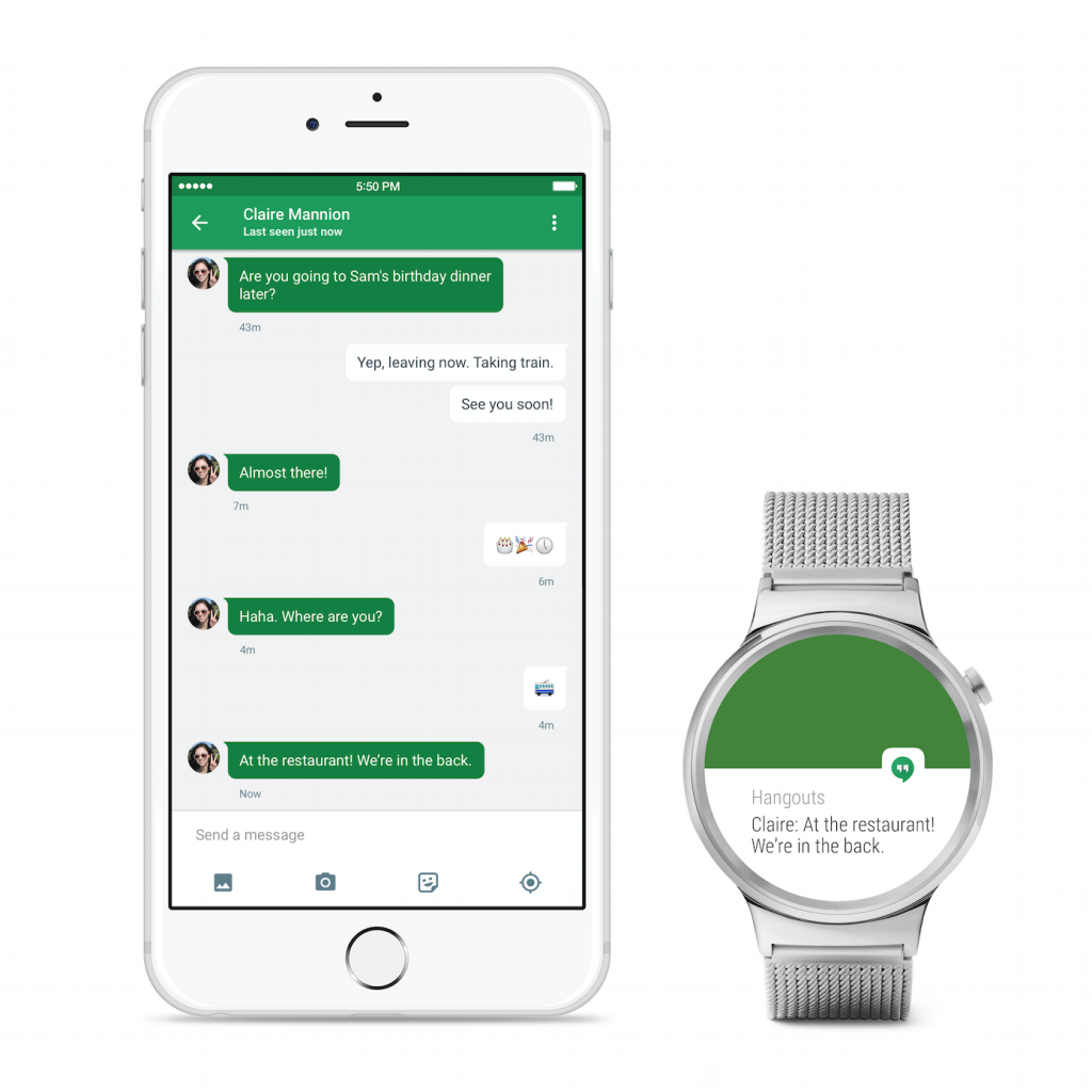 Android Wear For iPhones announced by Google