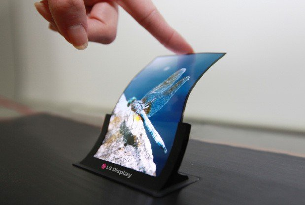 LG's Preparations for Mass-Production of Foldable Displays Which Can Fold More Than 100,000 Times