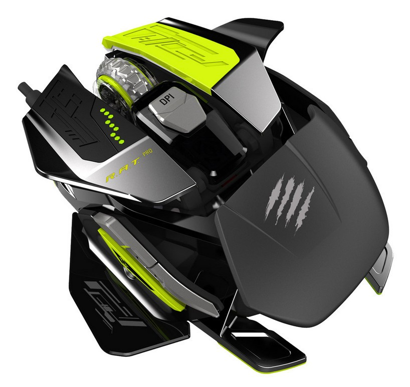Mad Catz to ship R.A.T PROX Gaming Mouse