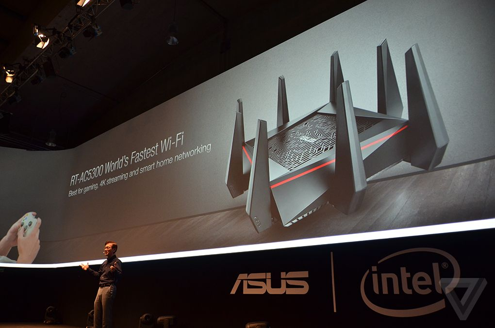 Asus Reviled A Monsters Router The AC5300 Tri-Band Gigabit Router