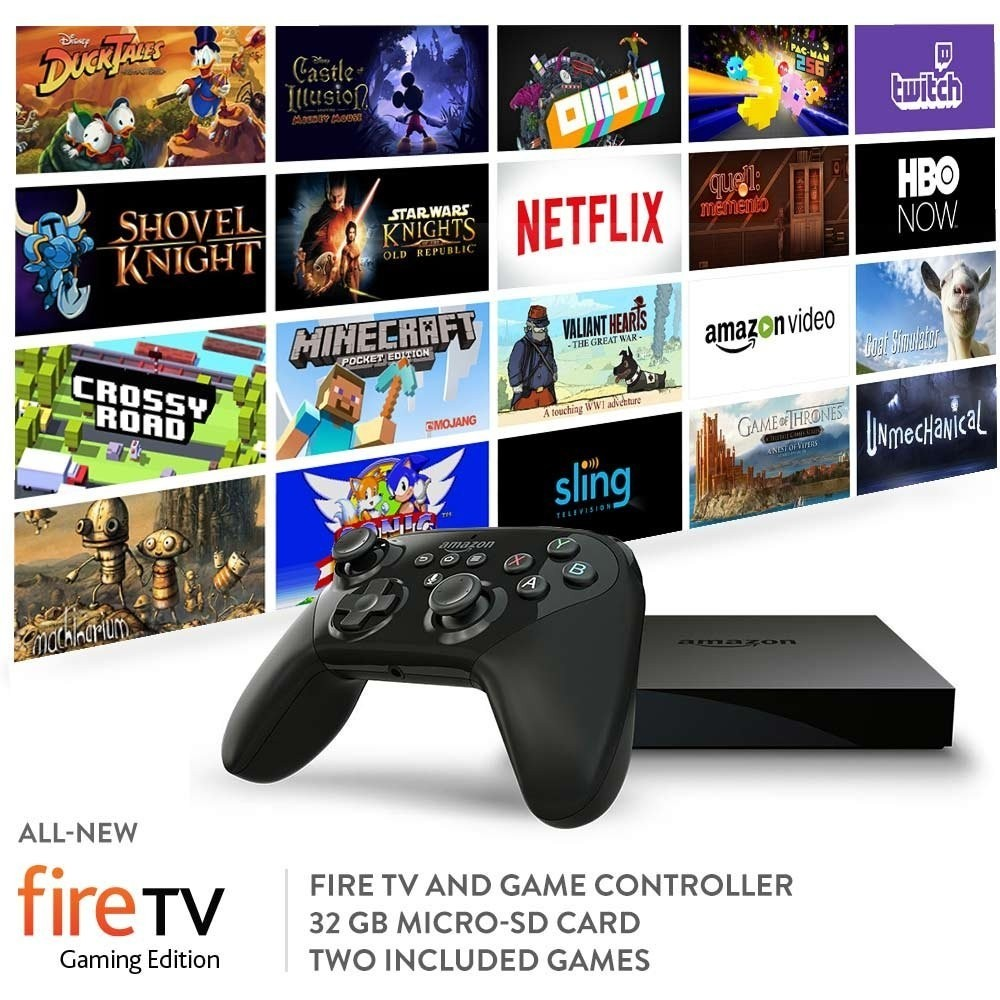 Amazon Announced The Fire TV Gaming Edition With 4K Video Streaming
