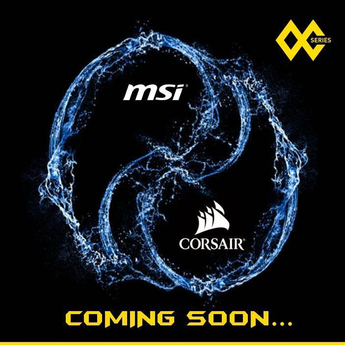 MSI teases their new OC graphics card with water-cooling by CORSAIR