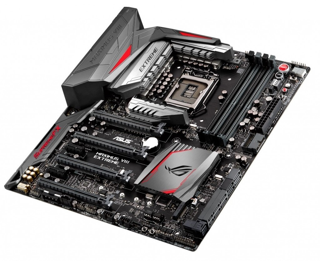 Asus showcase Maximus VIII Impact and Extreme Motherboards At ROG Unleashed