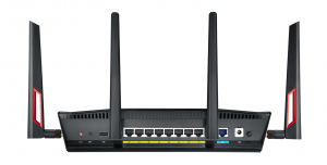 ASUS RT-AC88U MU-MIMO Router With 3100 Mbps Wi-Fi And 8-Port Switch