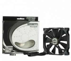 Phanteks Launches The MP And SP Series Black Edition Fans