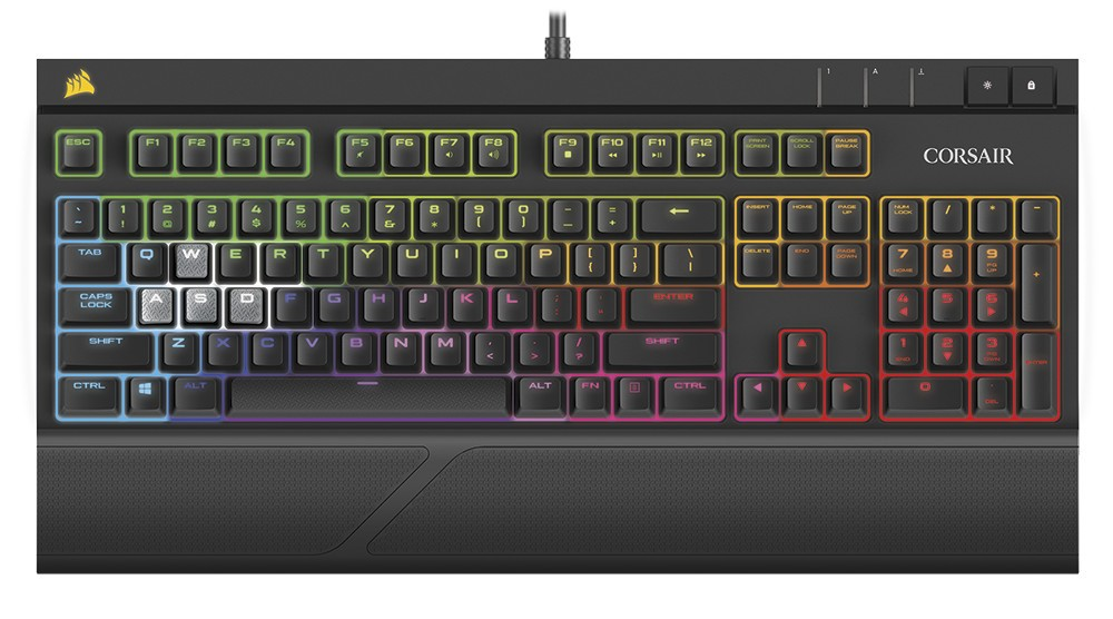 Corsair Announces the Strafe RGB Silent Mechanical Keyboard