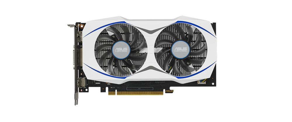 New ASUS White Geforce GTX 950 OC Spotted