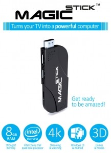 MagicStick Most powerful PC stick With 8GB RAM