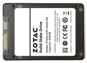 ZOTAC Announces its First Solid State Drives
