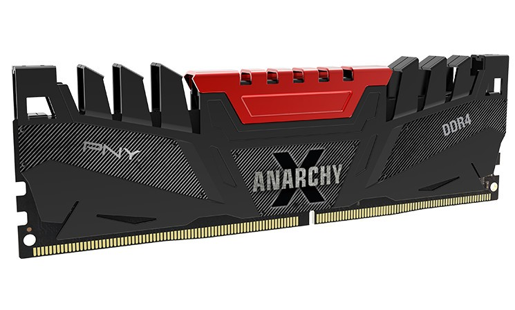 PNY Launched The Anarchy X Premium DDR4 Memory Kit