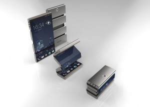 Drasphone Which Is Flexible and Foldable