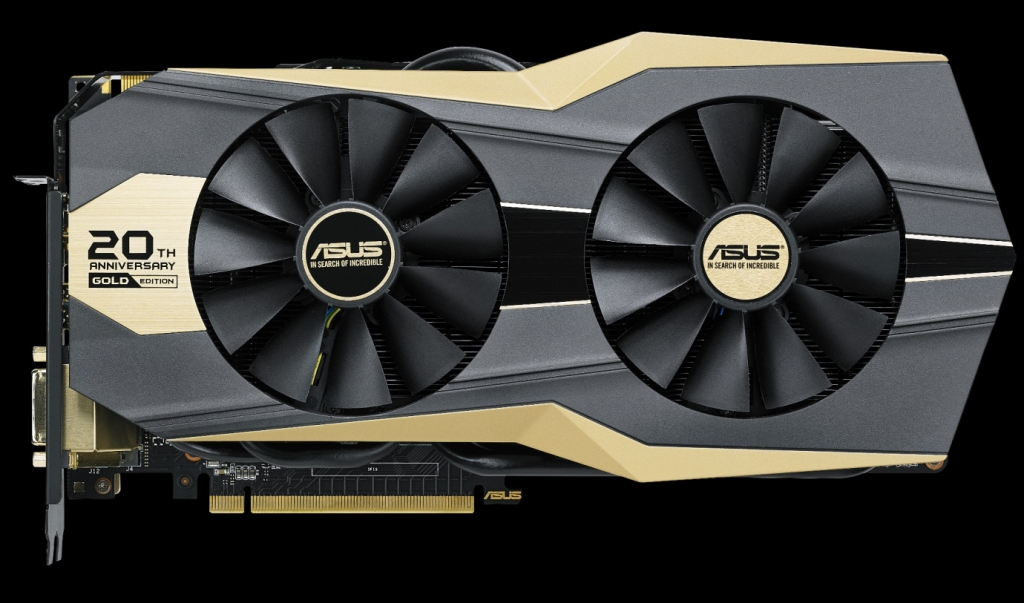 ASUS Announces GeForce GTX 980 Ti 20th Anniversary Gold Edition