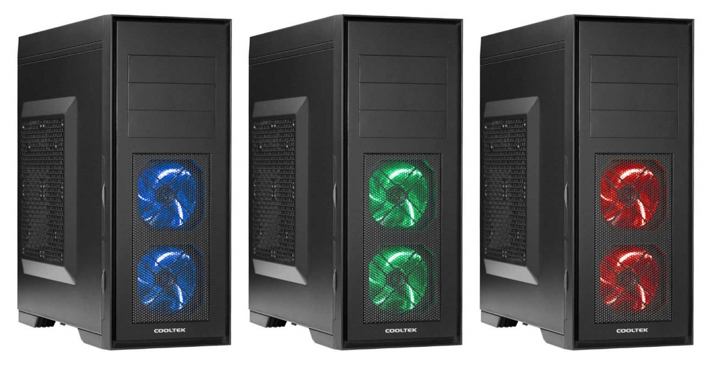 Cooltek Announces the Skall Series ATX Mid-tower Chassis