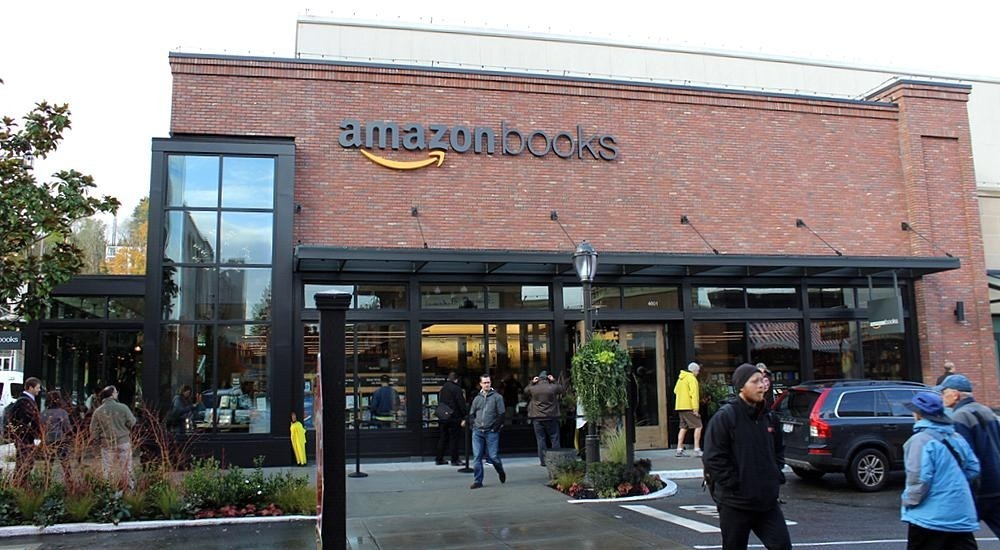 Amazon Open Their First Physical Book Store