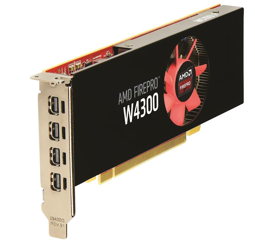 AMD Announces the FirePro W4300 Professional Graphics Card