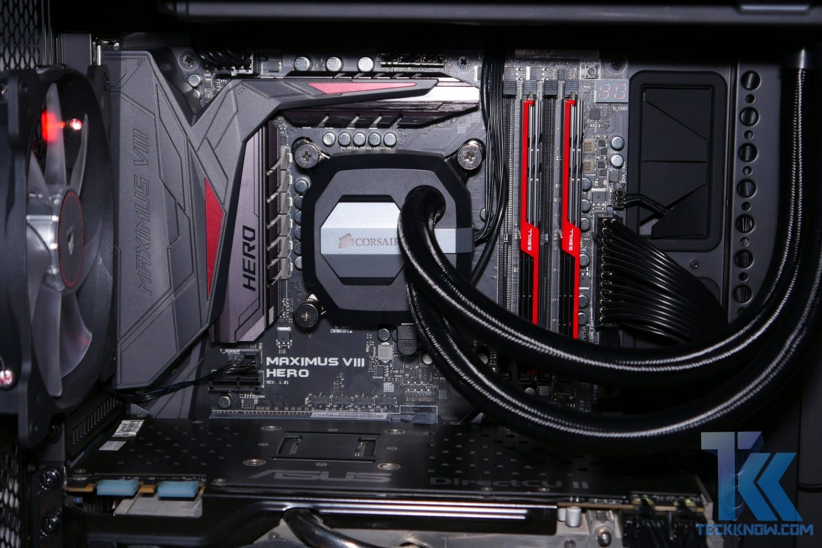 Corsair Hydro H100i GTX High Performance Liquid CPU Cooler ...