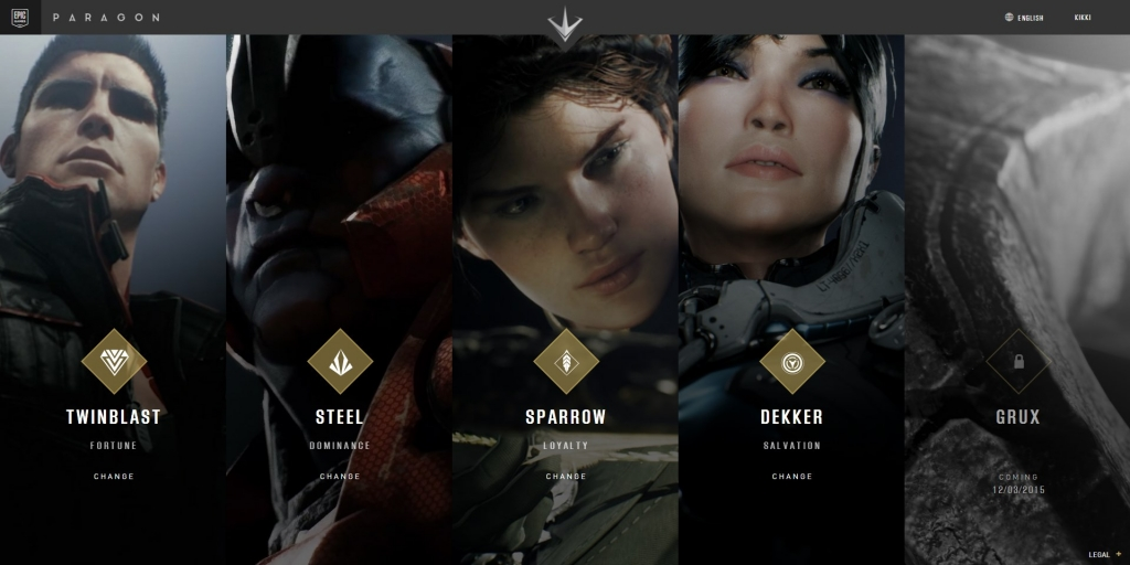 Epic Games Announce New Third-Person MOBA, Paragon