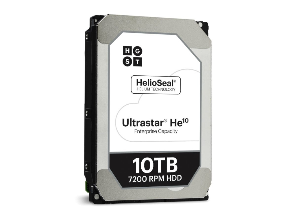 HGST Ultrastar He10 World's First 10TB Hard Drive