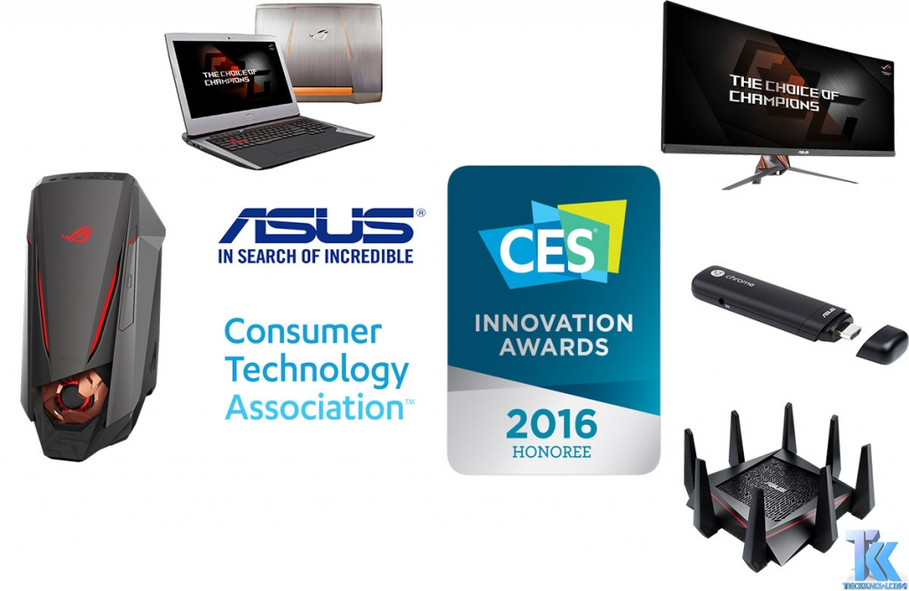asus innovation awards ces 2016