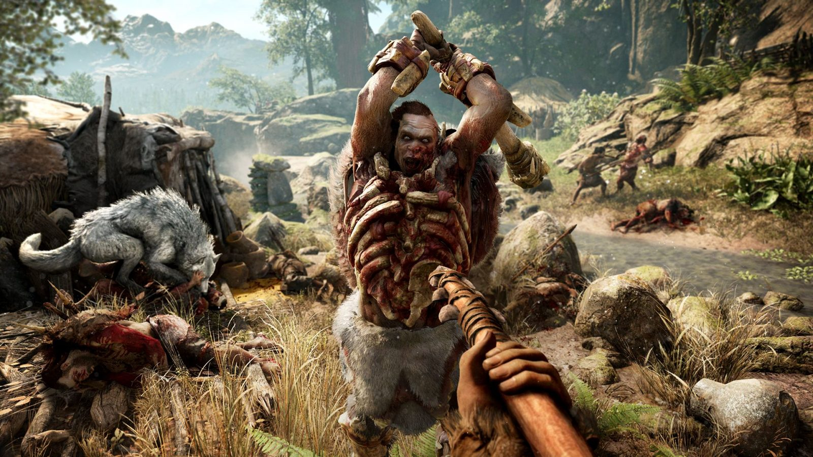 Far Cry Primal 101 Trailer Showing Weapons Skills And Enemies