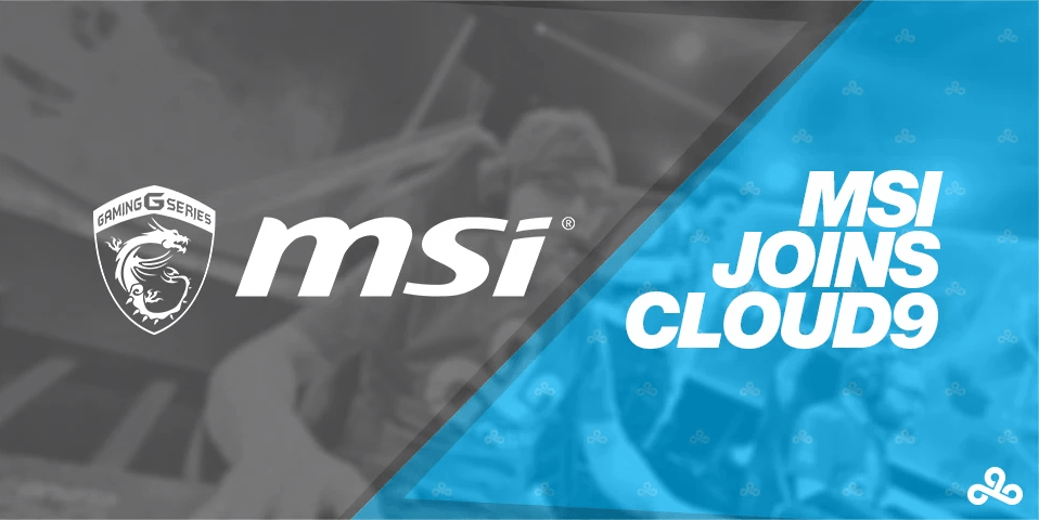 msi joins cloud9