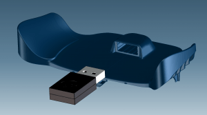 CAD 3D Model of Steam Controller 2