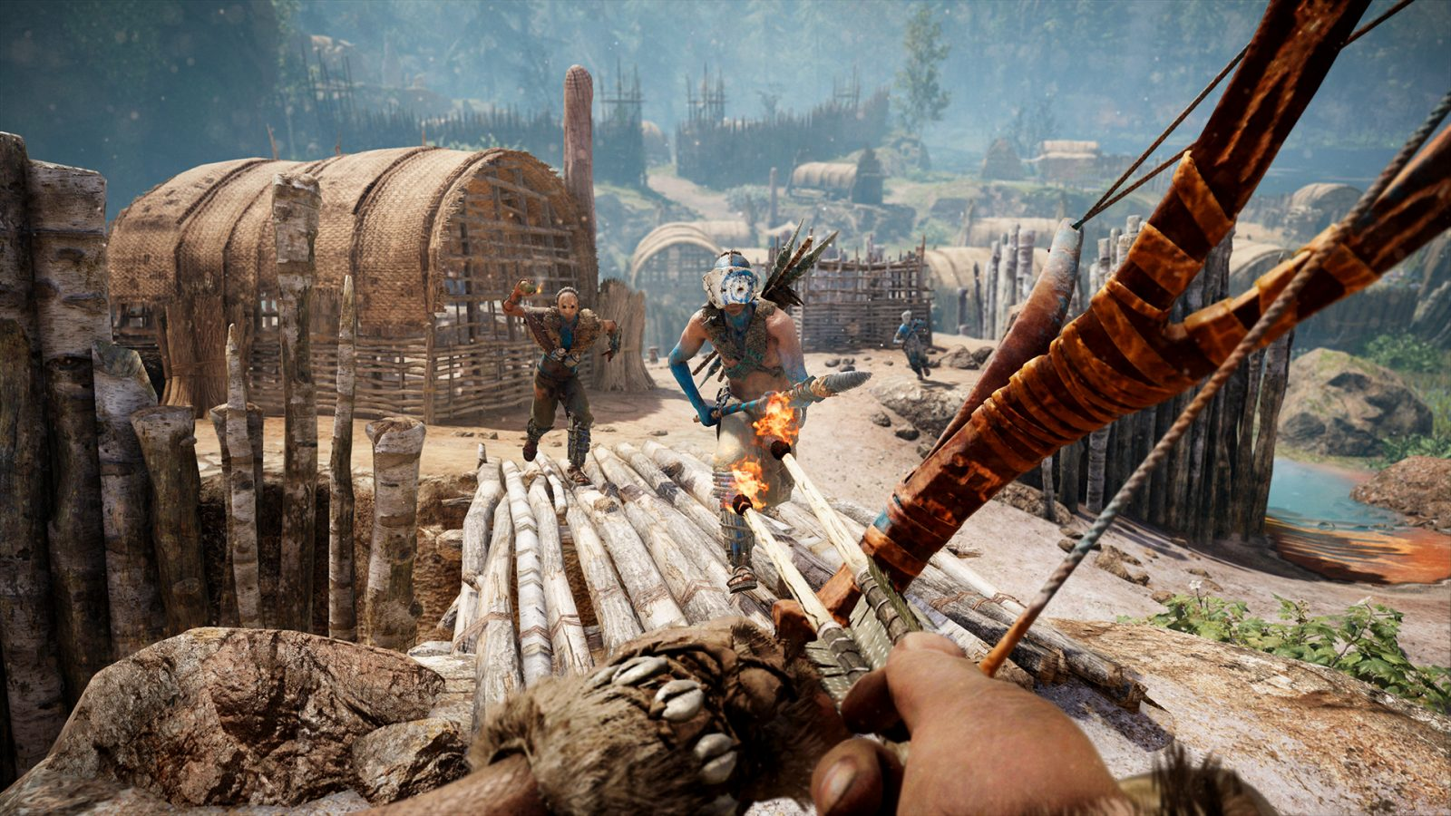 Far Cry Primal S Upcoming Update Adds 4k Textures Survival Mode