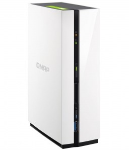 TS-128-1-bay mini-tower NAS