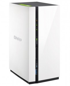 TS-128-2-bay mini-tower NAS