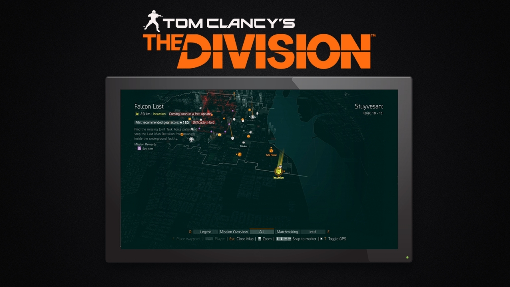 The-Division-First-Incursion-Falcon-Lost-From-The-Free-Update