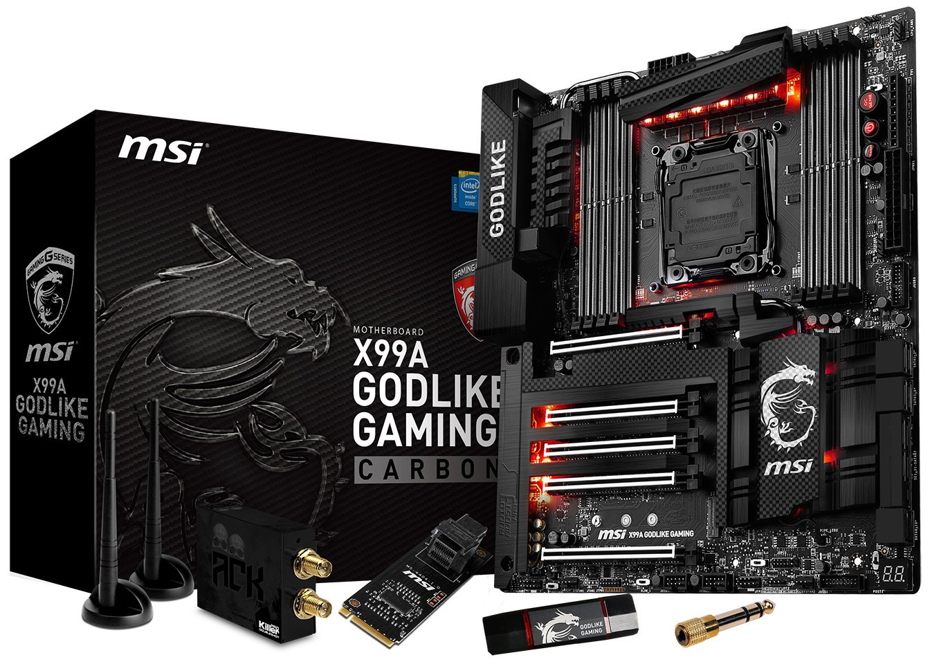 MSI Announces the X99A GODLIKE Gaming Carbon Motherboard