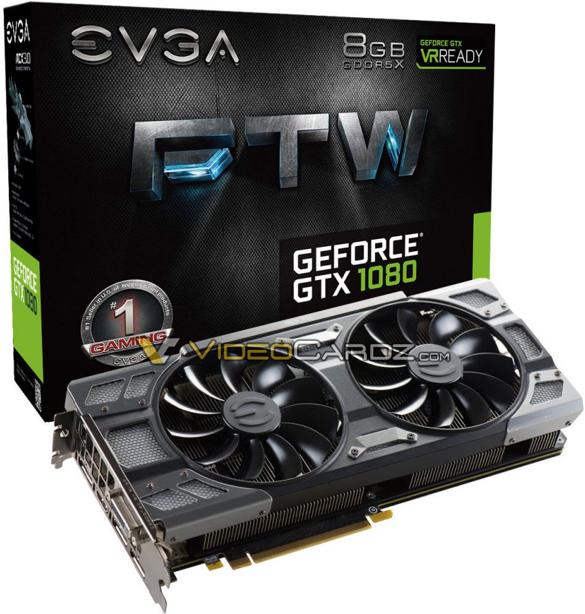 EVGA GeForce GTX 1080 FTW 4