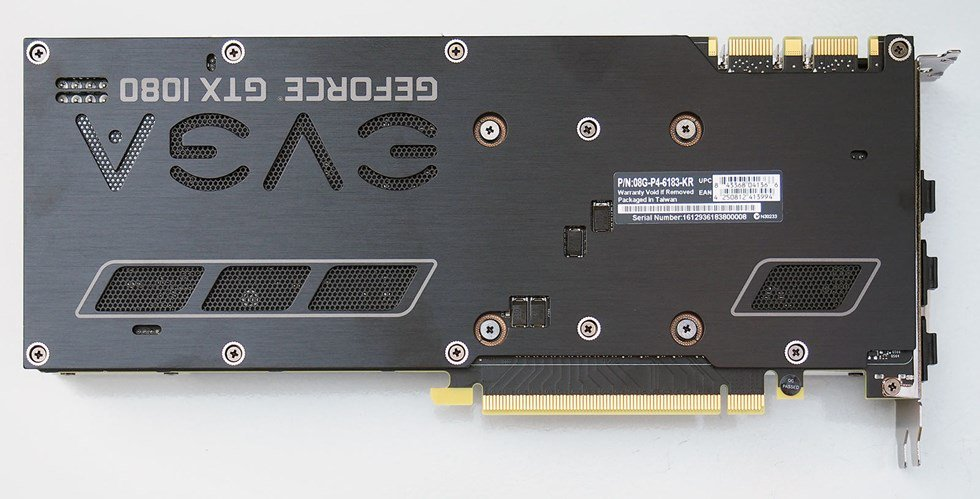 EVGA's GeForce GTX 1080 Superclocked ACX 3.0 1