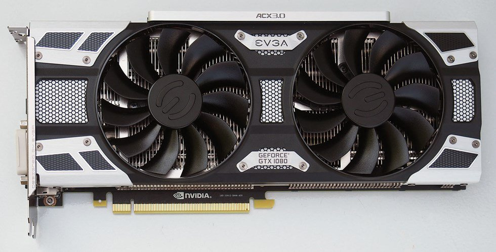 EVGA's GeForce GTX 1080 Superclocked ACX 3.0
