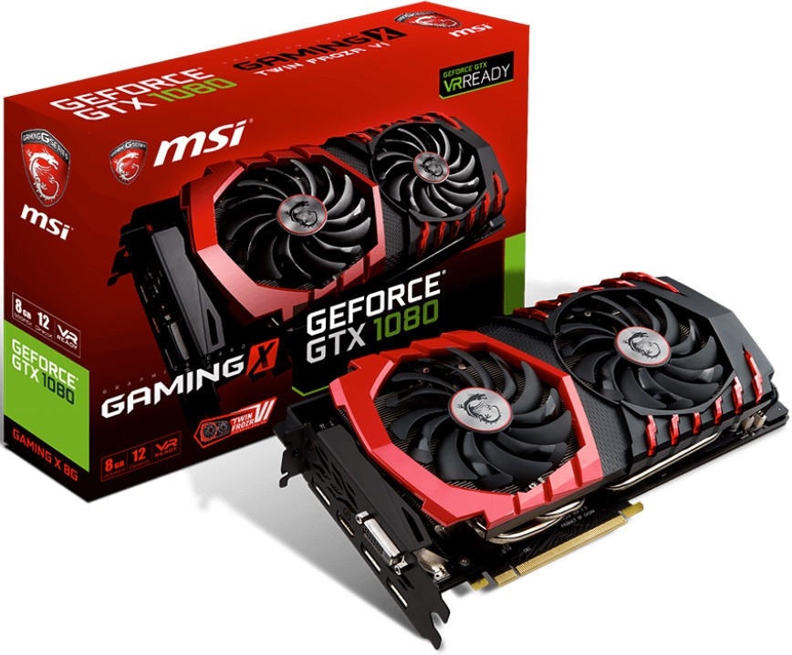MSI GTX 1080 TWIN FROZR VI Thermal Design with Balls of Steel