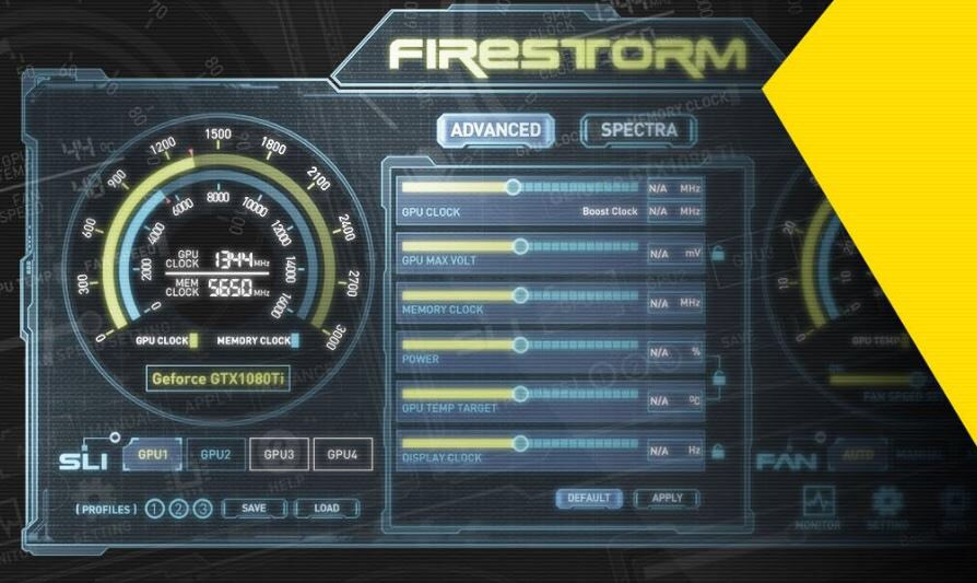 Zotac firestorm with GTX 1080Ti