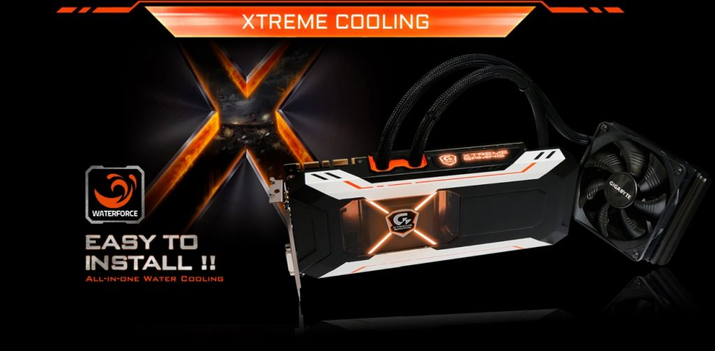 GTX 1080 Xtreme Gaming Water cooled