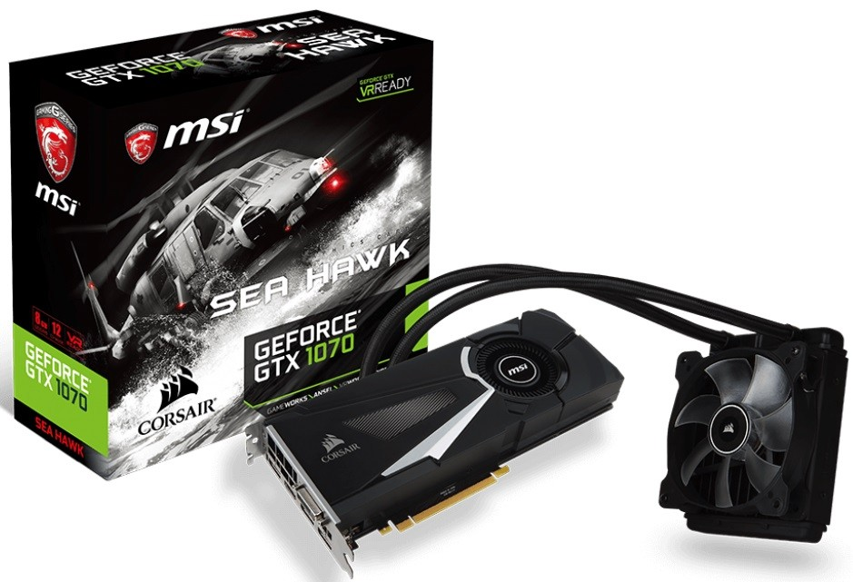 MSI GTX 1070 Sea Hawk