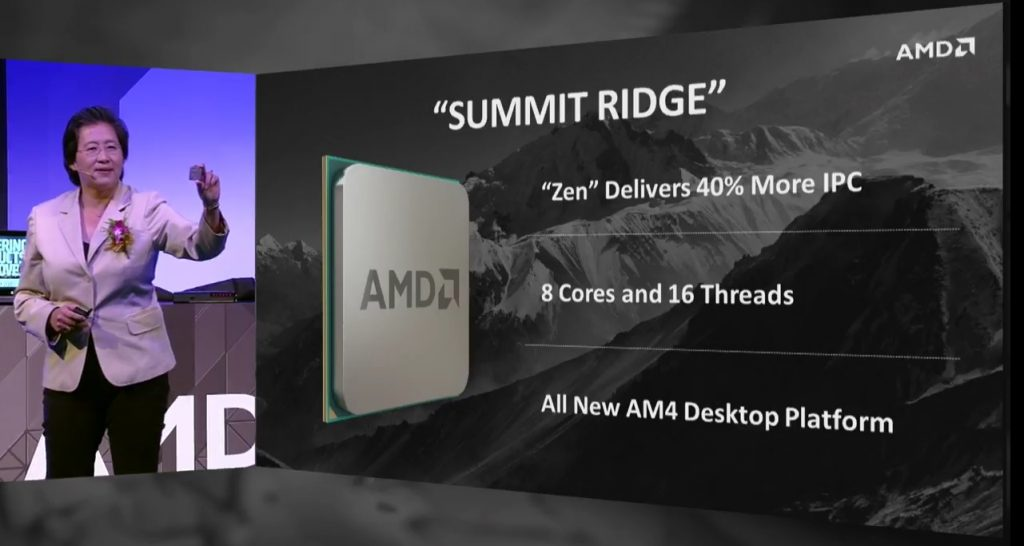Summit Ridge ZEN CPU