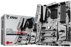 Z170A MPower Gaming Titanium 4