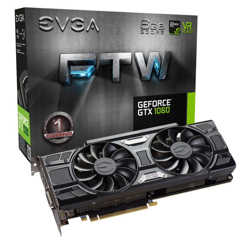 EVGA GeForce GTX 1060 FTW