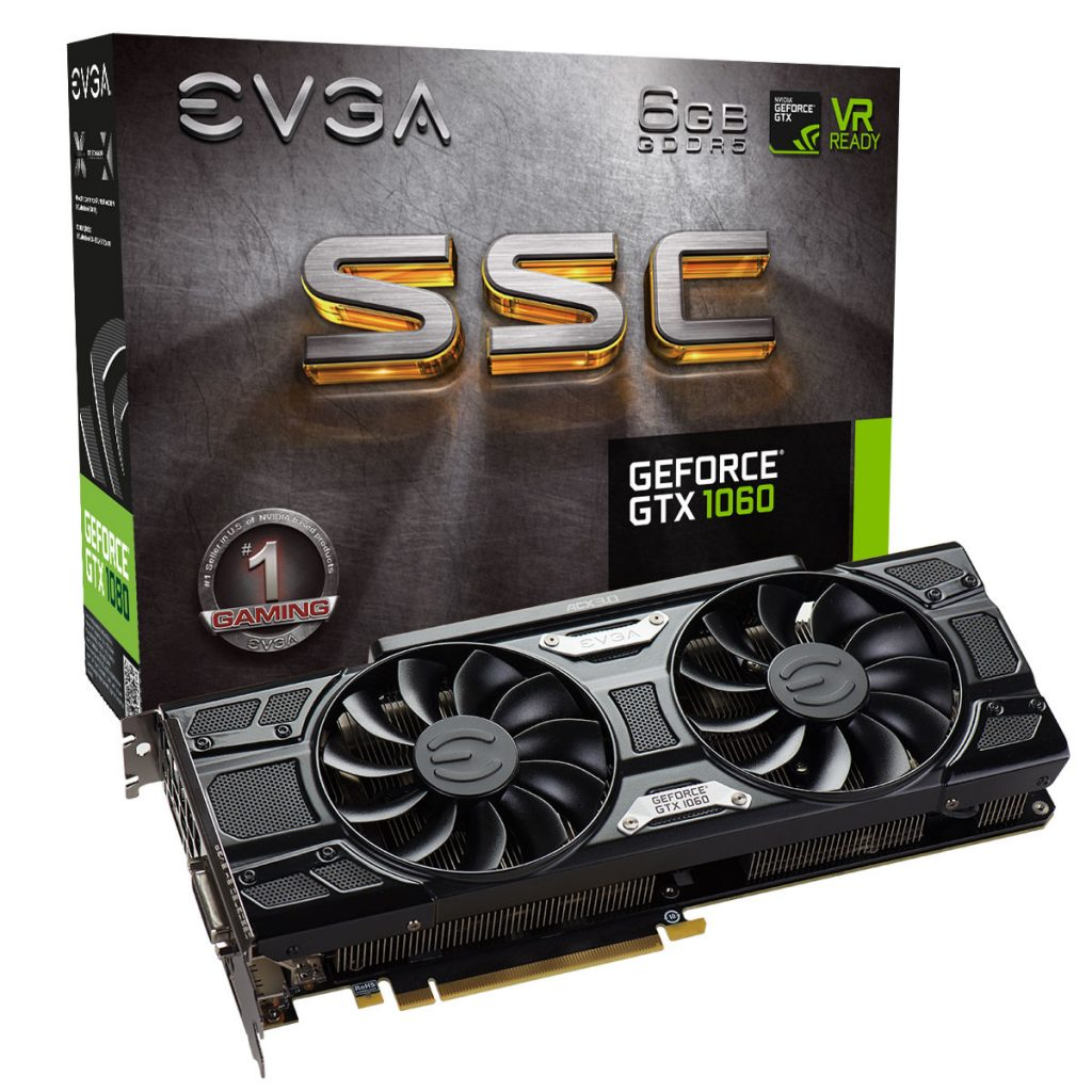 EVGA GeForce GTX 1060 SSC