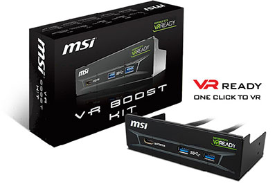 MSI VR BOOST KIT
